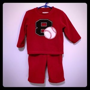 The Children's Place Fleece Baseball Outfit ⚾️